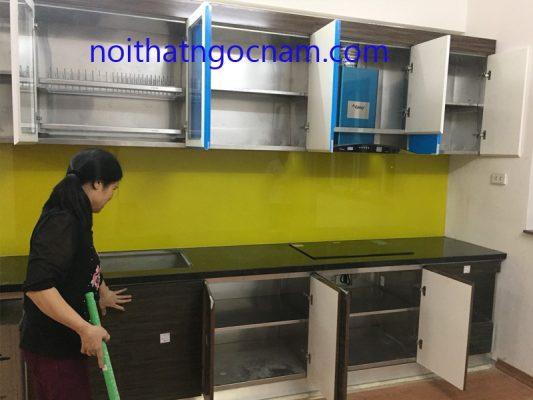 Lăp đặt tủ bếp injox bền đẹp giá rẻ