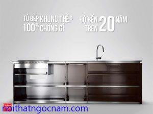 Tủ bếp inox là gì
