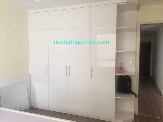 Tủ quần áo acrylic bắc ninh