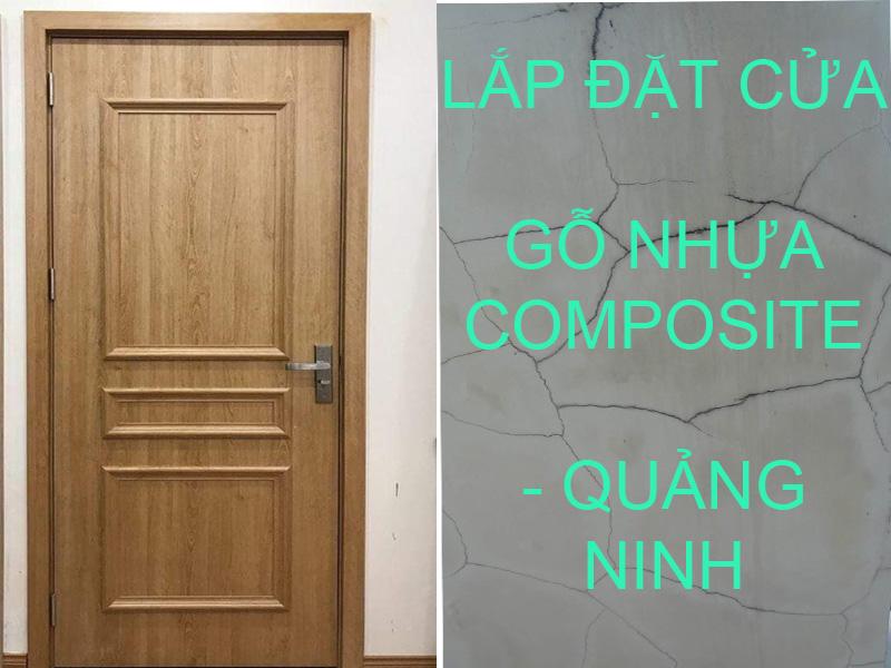 Lắp đặt cửa gỗ nhựa composite Hạ Long, Quảng Ninh