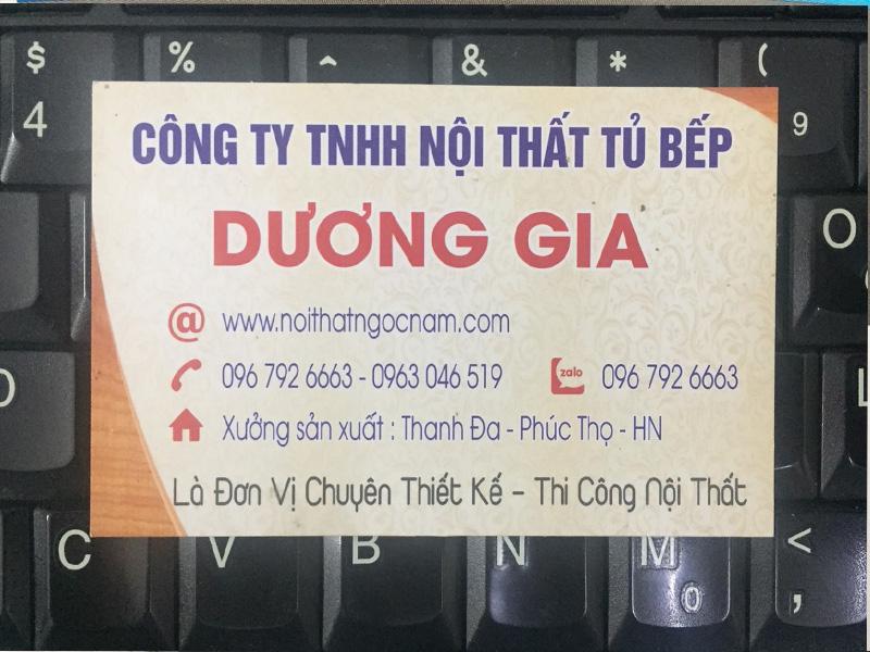 Công ty TNHH Nội Thất Tủ Bếp Dương Gia
