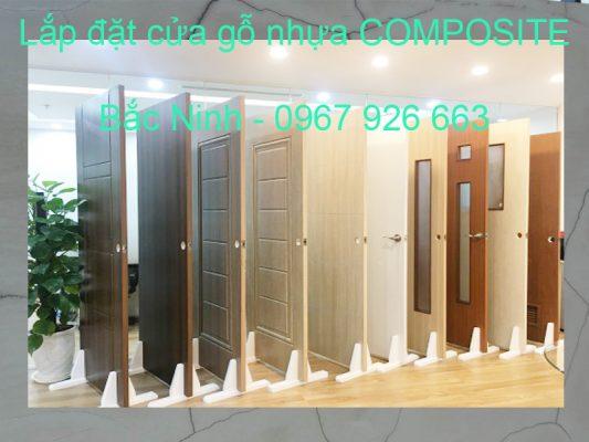 Lắp đặt cửa gỗ nhựa composite Bắc Ninh giá rẻ