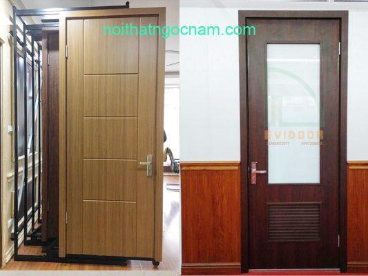 cửa gỗ nhựa composite giá rẻ nhất