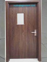 Xưởng sản xuất phân phối cửa gỗ nhựa composite giả gỗ
