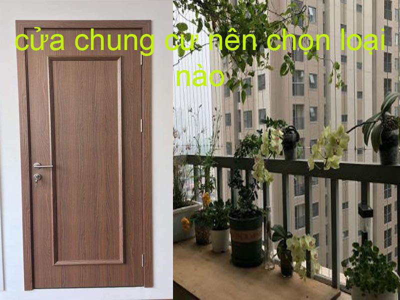 Lắp đặt cửa gỗ nhụa chung cư hà nội
