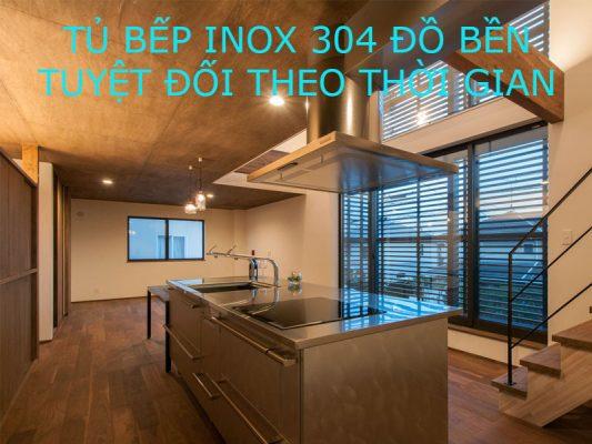 Địa chỉ chuyên đóng tủ bếp inox 304 giá rẻ độ bền trên 20 năm