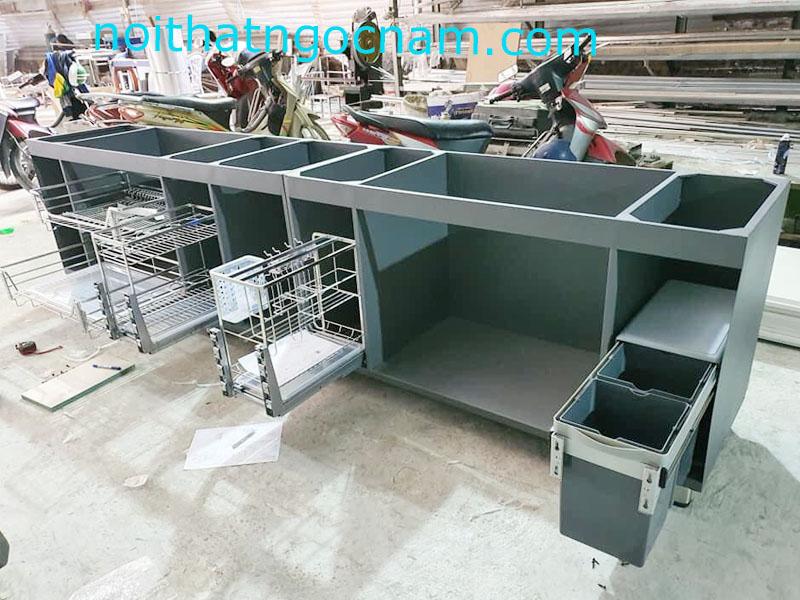 mẫu thùng tủ bếp inox sơn tĩnh điện cao cấp