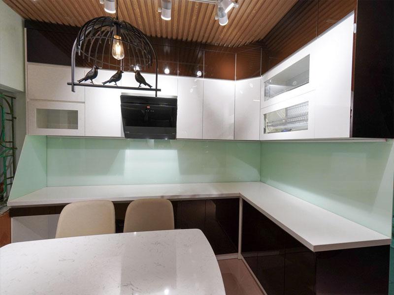 Chuyên đóng tủ bếp nhựa Acrylic Bắc Ninh