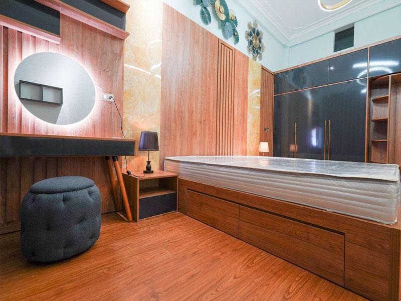 Nội thất phòng ngủ chung cư Bắc Ninh