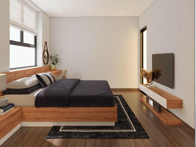 Nội thất phòng ngủ gỗ công nghiệp Bắc Ninh