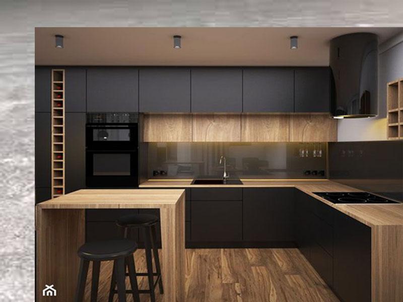 Chuyên tư vấn thiết kế thi công đóng tủ bếp melamine giá rẻ ở hà nội