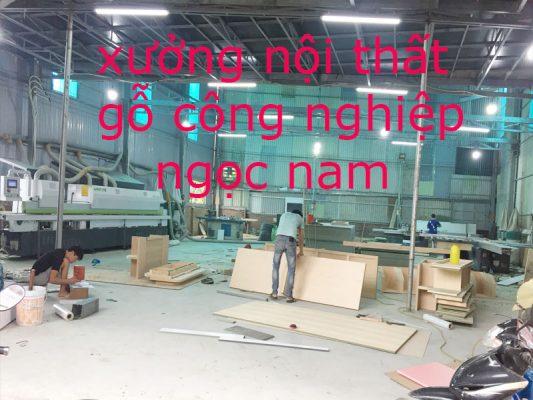 Xưởng thiết kế thi công nội thất gỗ công nghiệp ở Hà Nội giá rẻ