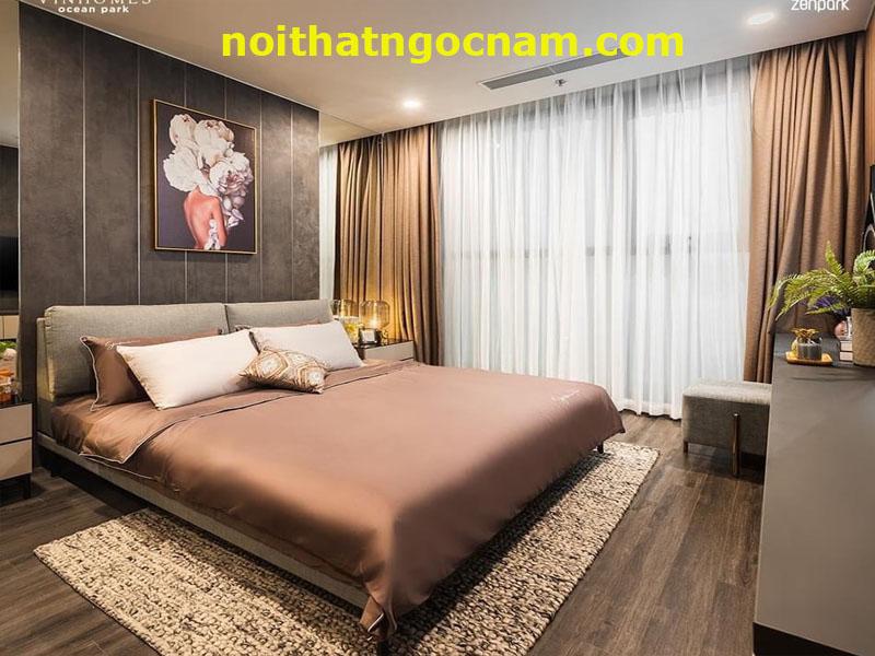Nội thất gô công nghiệp phòng ngủ