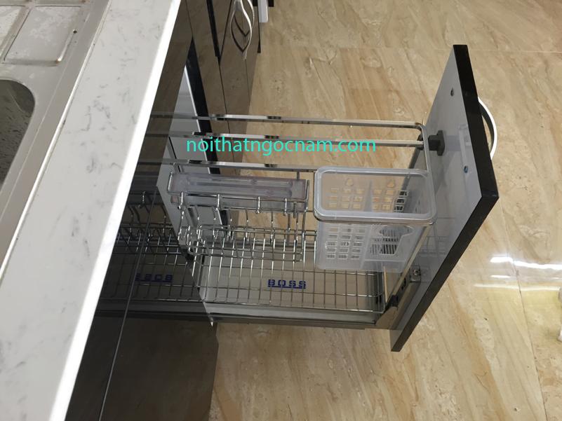 Phụ kiện inox tủ bếp giá cài dao thớt tủ bếp dưới